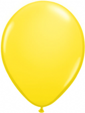 Qualatex Yellow Balloons 25 Pack